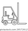 Electric, loader, icon 26572612