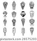 icon, vector, dessert 26575203
