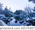 겐로쿠엔, 겸육원, 설경 26575907