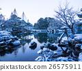 เคนโรคุเอ็น,ฉากหิมะ,สวนญี่ปุ่่น 26575911