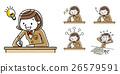 学习的女孩学习 26579591