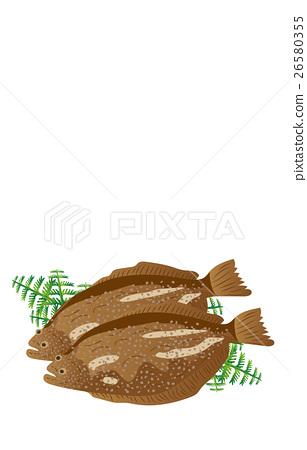 矢量 海产品 日本食品 26580355