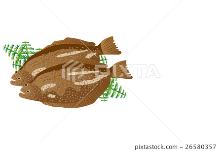 矢量 海产品 日本食品 26580357