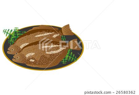 矢量 海产品 日本食品 26580362