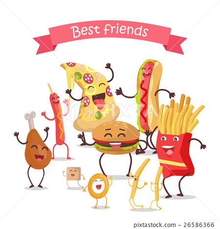 Best Friends, Food Banner 26586366