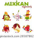 vegetable mexican character 26587862