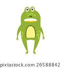 standing, facing, frog 26588842