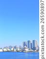 东京城市景观[摩天大楼·公寓] 26590897