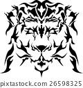 矢量 狮子 百兽之王 26598325