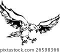 矢量 鹰 部落的 26598366