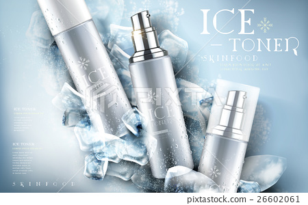 ice toner ad light blue 26602061