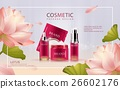 Lotus cosmetic ads template 26602176