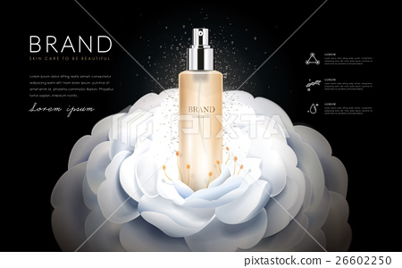 Camellia skin toner ads 26602250