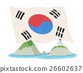 国旗 爱国主义 大韩民国 26602637