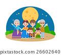 韩国中秋节 家庭 家族 26602640
