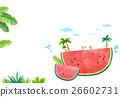 八月 西瓜 插圖 26602731