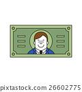 紙幣 男性 男人 26602775