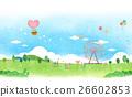 景色 插图 背景 26602853
