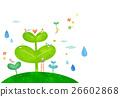 사람, 잔디, 봄 26602868