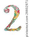 插图 花朵 花 26602971