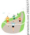 馬拉松賽跑 人物 人 26602977