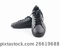 Black sneakers. Canvas Shoe. 26619688