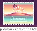 landscape, palm, island 26621320