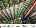 Detail of Traditional Korean Roof 26626744