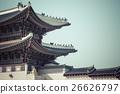 Details of  Gyeongbokgung  Palace. 26626797