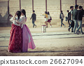 Young girls at Gyeongbokgung Palace of Seoul 26627094