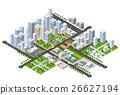 Megapolis 3d isometric 26627194
