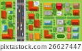 city, urban, street 26627447