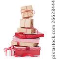 Christmas gift boxes 26628444