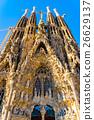 世界遗产 圣家族教堂 西班牙 26629137