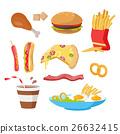 Tasty Fast Food Set 26632415