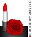 玫瑰 玫瑰花 唇膏 26632637