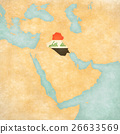 Map of Middle East - Iraq 26633569