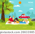 outdoor, park, picnic 26633985