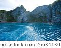 從船上看到的積丹半島(藍洞) 26634130
