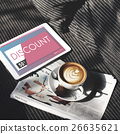 Gift Card Voucher Coupon Graphic Concept 26635621