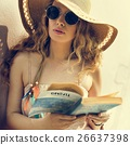 Beach Summer Holiday Vacation Traveling Relaxation Reading Conce 26637398