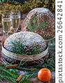 Panettone And Champagne 26642841