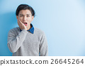 man feel toothache 26645264