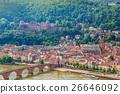 Heidelberg city skyline, Germany 26646092