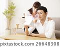 メンズビューティー 夫婦 スキンケア ビューティー 男性 カップル 女性 家族 26648308