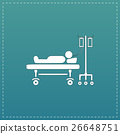 Illustration of Life icons, hospitalized 26648751