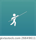 Pole vault athlete 26649611