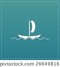 yachts flat icon 26649816