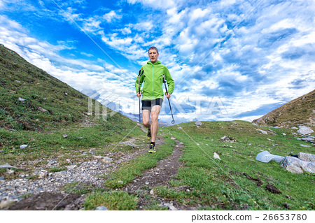 nordic walking mountain 26653780