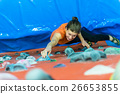 indoor climbing girl 26653855